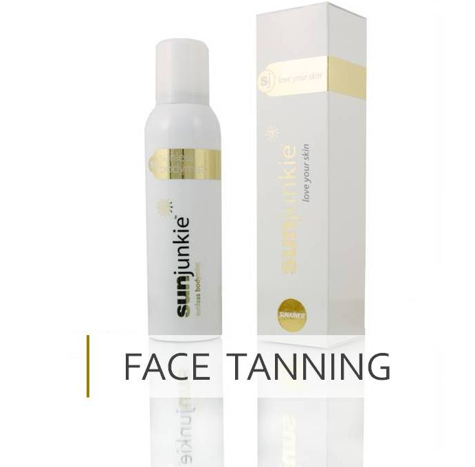 Sunjunkie self tan for face fake tan