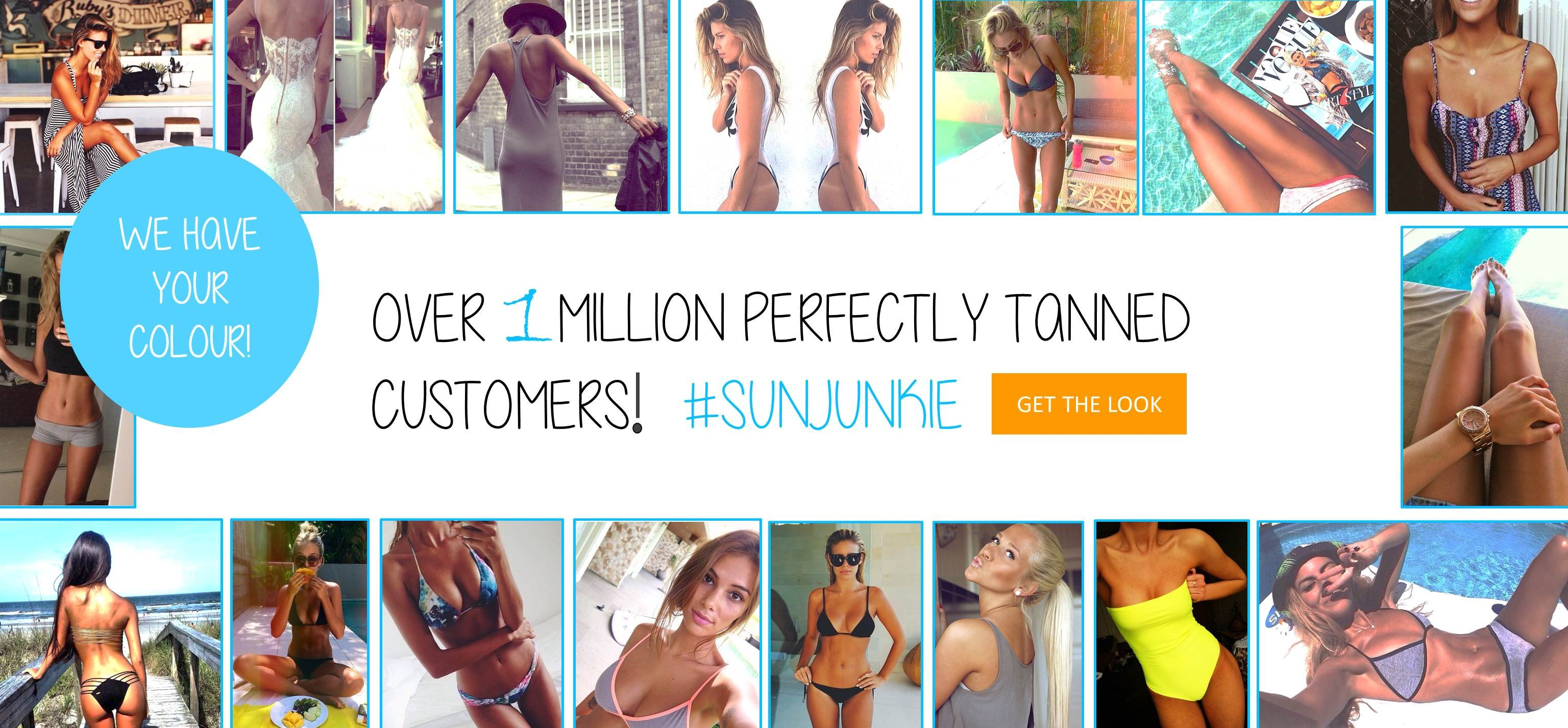 Sunjunkie fake tan